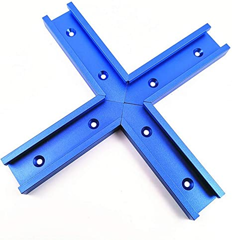 Fixture Slot Guide Track Blue 30 Type T-Slot Miter Jig Tool T-Track Miter Jig Tool Clamp Tool Miter A Chute of Type 30 800MM