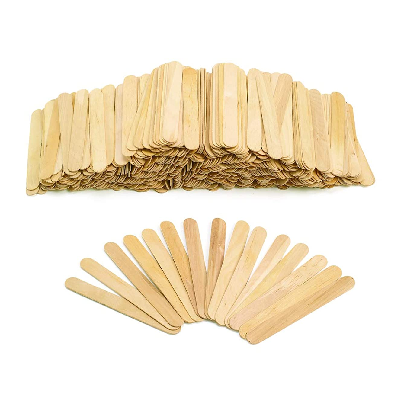 Colorations 500T Large Wood Craft Sticks (Pack of 500)