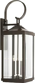 Progress Lighting P560023-020 Gibbes Street Three-Light Large Wall Lantern (9.5