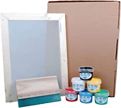 Hunt The Moon Screen Printing Kit, Wooden, Large A3 Deluxe