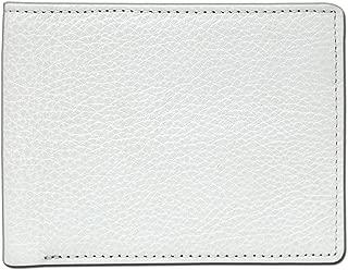 D'HIDES Men's Leather Wallet (White)