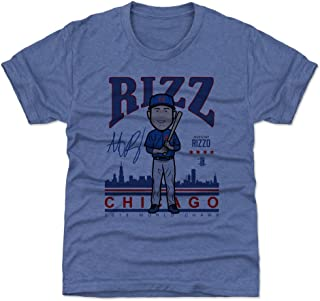 500 LEVEL Anthony Rizzo Chicago Baseball Kids Shirt - Anthony Rizzo Toon BR