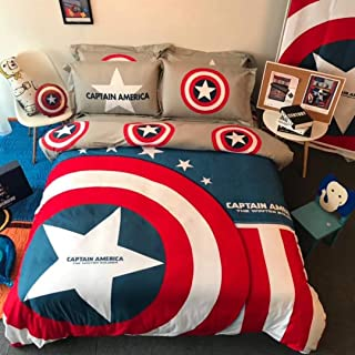 Best king size captain america bedding Reviews