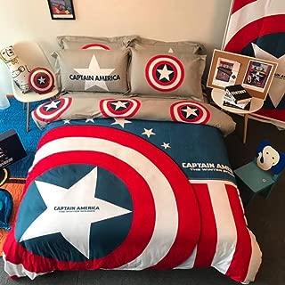 Best captain america comforter queen Reviews
