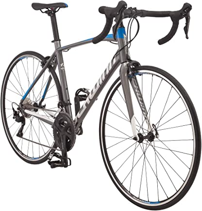 featured product Schwinn Fastback AL 105 Performance Road Bike for Intermediate to Advanced Riders, Featuring 57cm/Extra Large Aluminum Frame, Carbon Fork, Shimano 105 22-Speed Drivetrain, and 700c Wheels, Charcoal