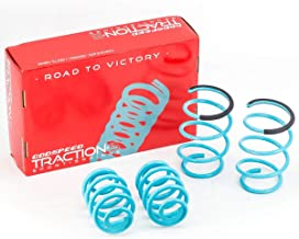 LS-TS-BW-0006 Traction-S Performance Lowering Springs, Set of 4, compatible with BMW 3 Series 1999-2005(Does not fit Xi Models)(E46)