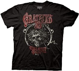 Ripple Junction Grateful Dead Adult Unisex New York Bertha Light Weight 100% Cotton Crew T-Shirt