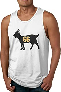 Moore Me Mens Sleeveless Tank Top Shirts Gold Pittsburgh Lemieux Goat Gym Vestl T-Shirts