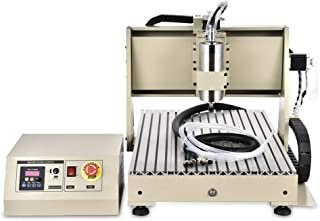 USB 4 Axis CNC 6040 Router Engraver 1.5KW VFD Water-cooling 110V ENGRAVING MILLING Machine BALL SCREWS Engraving Cutting Milling 3D USA