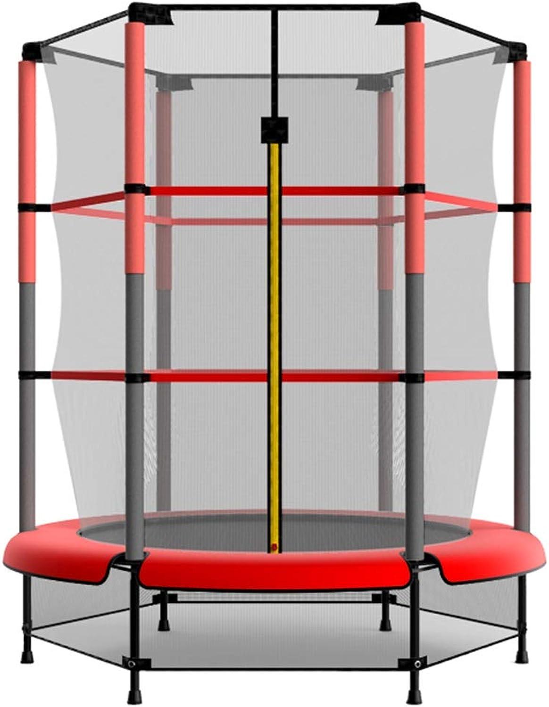 Gartentrampoline Trampolin elastisches Bett Klasse Bett Home Kinder Indoor-Trampolin Bounce mit Schutznetz Familie Spielzeug Sprungbett geben Kinder Tragegewicht 150kg Gartentra