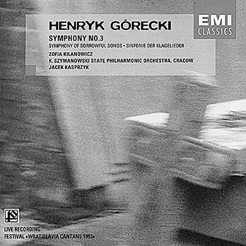 Zofia Kilanowicz/K. Szymanowski State Philharmonic Orchestra, Cracow/Jacek Kasprzyk