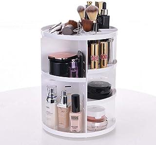 360 Graden Roterende Make-uporganizer, Cosmetische Opbergrek Lippenstift Sieradendoos Houder Displaystandaard Cosmetische ...