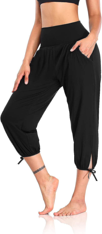 DIBAOLONG Womens Yoga Pants Capri Comfy Loose Workout Sweatpants Classic famous