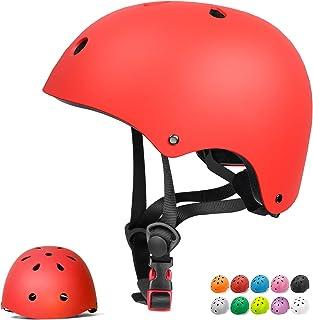 Skateboard Helmet Adult Cycling Bike Helmet Men Women Bike Helmet Classic Commuter Bike Skate Multi-Sport Helmet Adjustabl...