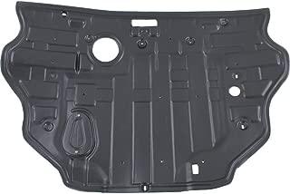 Engine Splash Shield compatible with Hyundai Sonata 11-14 Under Cover Rear 2.4L Eng W/O Sport Suspension