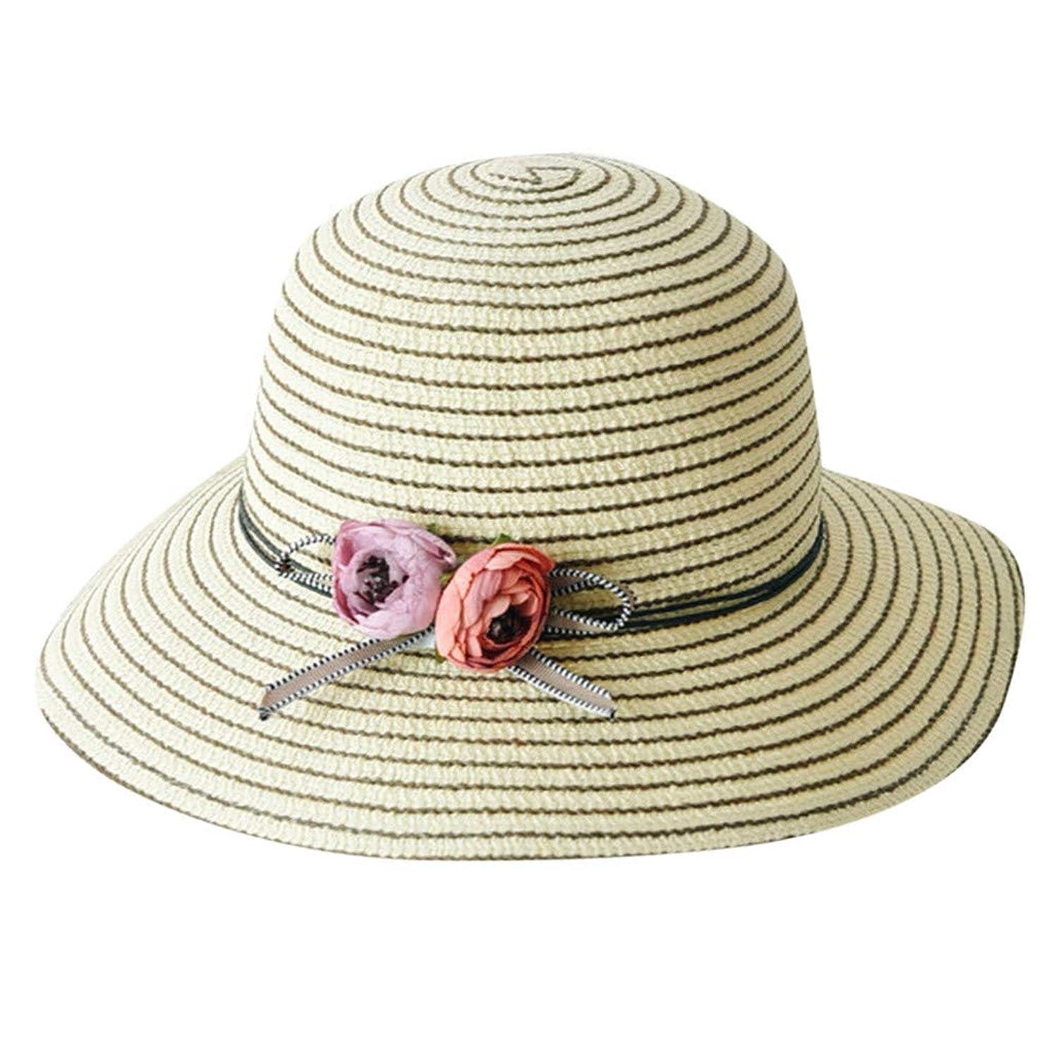 層輸送オプショナル帽子 レディース 漁師帽 夏 UVカット 帽子 綿糸 ハット レディース 紫外線100%カット UV ハット 可愛い 小顔効果抜群 日よけ 折りたたみ つば広 小顔効果抜群 折りたたみ 海 旅行 ROSE ROMAN