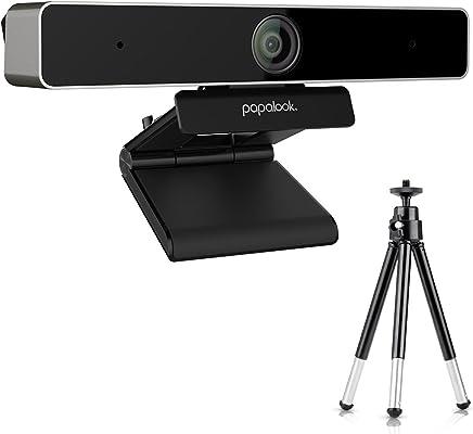 Webcam 1080p, Papalook PA920 HD webcam con microfono e treppiedi regolabile per PC, USB del computer fotocamera per Skype chattare online, Plug and Play web Cam, compatibile con Windows, Mac, TV - Trova i prezzi più bassi