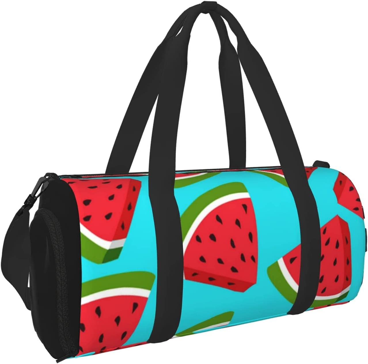 Kenaat Watermelon Fruit Sports Gym Bag With Separated Gy 40% OFF Cheap Sale Wet Popular product Dry