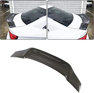 JC SPORTLINE A3 S3 RS3 CF Rear Spoiler, fits Audi A3 S3 A3 Sline RS3 Sedan 2014-2019 Carbon Fiber Rear Trunk Lip Deck Lid Wing Factory Outlet