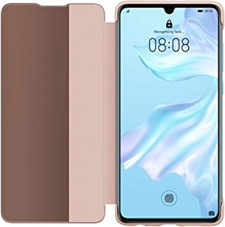 HUAWEI P30 ケース Smart View Flip Cover/Pink