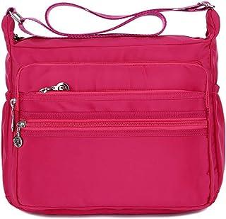 Fanspack Shoulder Bag Multi-Pocket Messenger Bag Purse Handbag Crossbody Bag Satchel Bag
