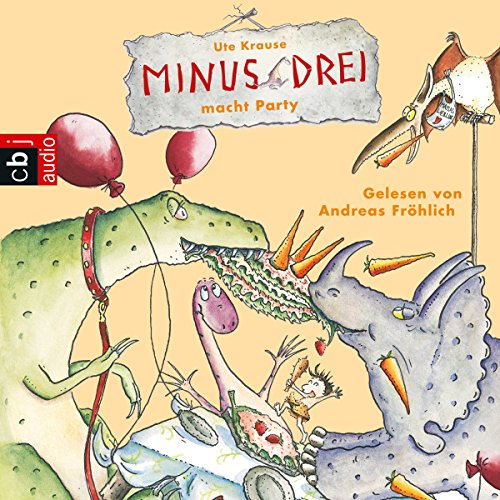 Minus Drei macht Party audiobook cover art