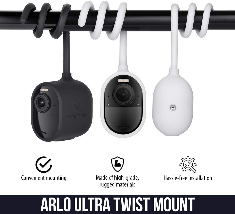 Adjustable Gooseneck-Like Twist Mount