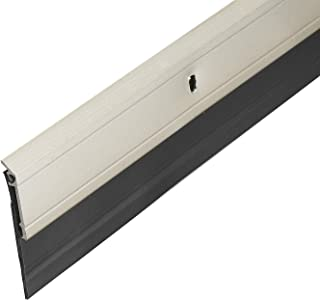Frost King A62/36SN Premium Extra Wide Aluminum and Vinyl Door Sweep 2-Inch by 36-Inch,, Satin Nickel