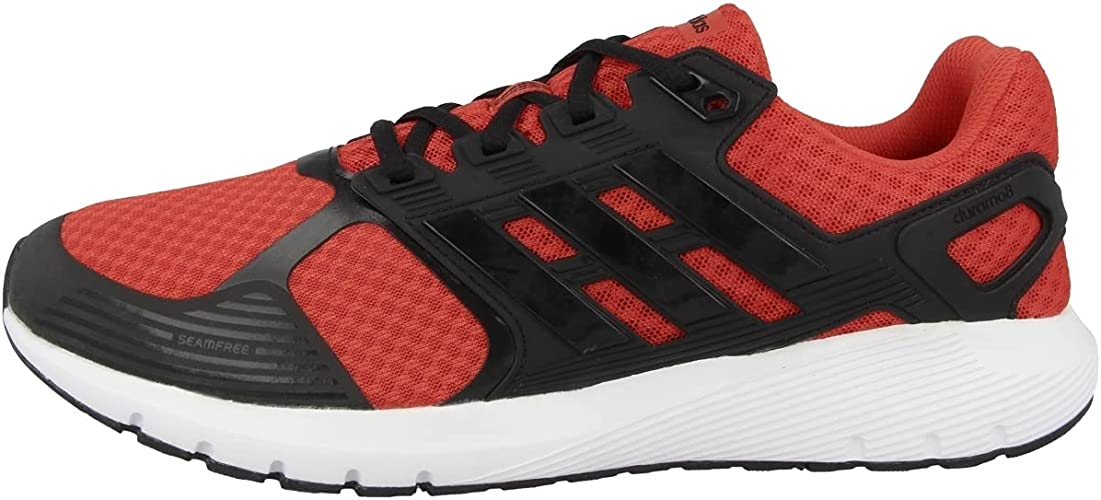 adidas Men's Competition Running Shoes, Red Hi Res Red Core Black ...