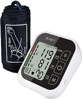 YBS Esfigmomanómetro de muñeca Hogar Digital Automático Superior del Brazo Instrumento de medición con una Amplia Gama de puños, de 3,5 Pulgadas de Pantalla LCD Grande,Negro