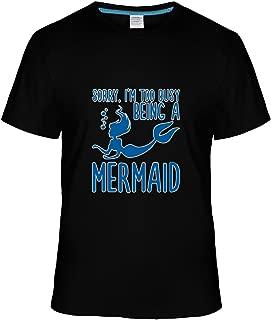 Beatles Rock Men's Fashion Sorry I'm Too Busy Being a Mermaid tshirt
