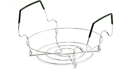 New Norpro Small Canning Rack Folds Flat; Made of Chromed Steel
