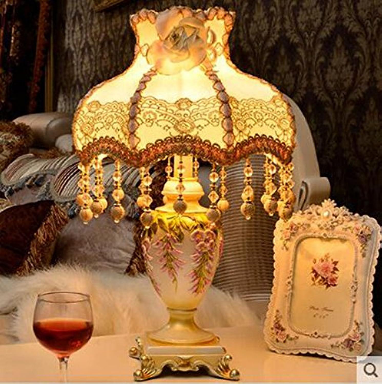 Tischleuchte Continental Tischlampe Prinzessin Garden Kreative Schlafzimmer Bedside Lampe Hochzeit Warm Dekoration Tischlampe Nachttischlampe