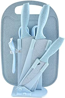 7 Pieces Professional Chef Stainless Steel Knife Dishwasher Safe Set