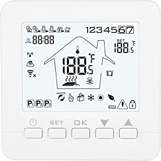 Konesky Wifi Termostato inteligente APLICACIÓN del termostato programable Controlador TUYA para calderas de gas de agua el...