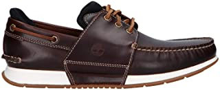 Timberland Chaussures Bateau pour Homme A2435 HEGERS Brown