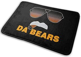 HappyCreative Da Bears Ditka Funny Chicago Door Mat Entrance Mat Floor Mat Rug Indoor/Outdoor/Front Door/Bath Mats Rubber Non Slip 15.7x23.6 Inches