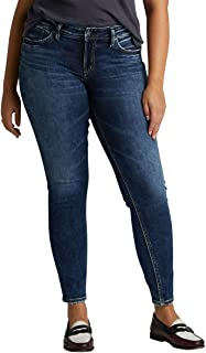 Women's Elyse Relaxed Fit Mid Rise Skinny Jeans
