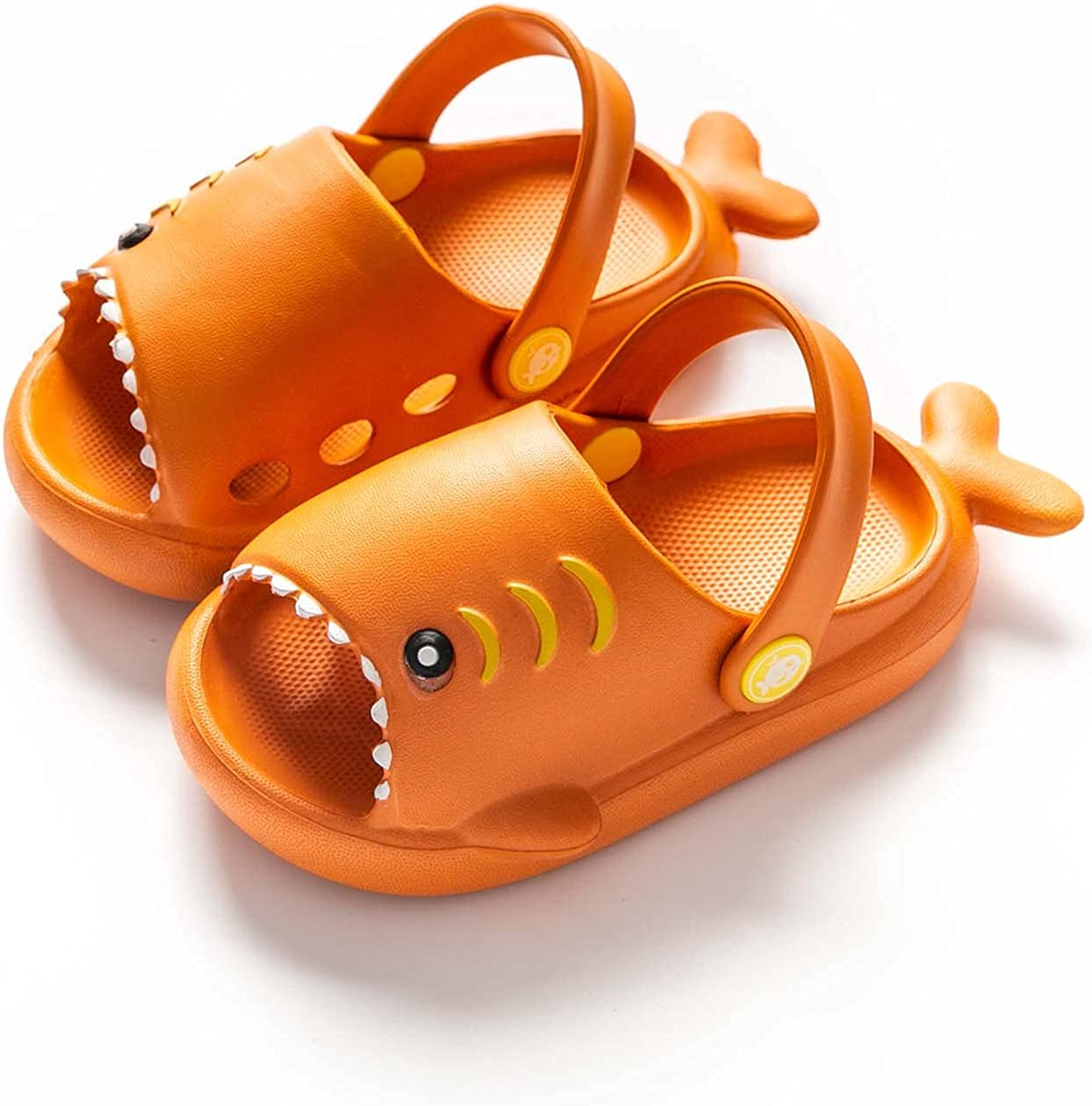 Fashion Fun Shark Slippers Limited Special Selling Price Baby Boy Bottom Soft Beach Shoes Non-