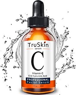 Sponsored Ad - TruSkin Vitamin C Serum for Face with Hyaluronic Acid, Vitamin E, Witch Hazel, 1 fl oz