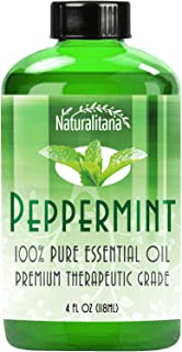 Sponsored Ad - Best Peppermint Oil (4 Oz Bulk) Aromatherapy Peppermint Essential Oil for Diffuser, Topical, Soap, Candle &...