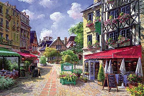 Wallpaper M 1000 pièces Puzzles pour Adultes Puzzles partition partition Caen Petit Restaurant Cadeau, Jouets Cadeau personnalisé Puzzle Photo