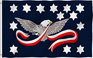 Best Anley Fly Breeze 3x5 Foot Whiskey Rebellion Flag - Vivid Color and Fade Proof - Canvas Header and Double Stitched - Whiskey Insurrection Flags Polyester with Brass Grommets 3 X 5 Ft Review