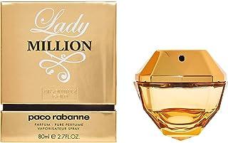 Lady Million Absolutely Gold by Paco Rabanne for Women - Eau de Parfum, 80ml