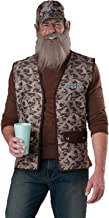Incharacter Mens Tv Characters Duck Dynasty Uncle Party Fancy Costume