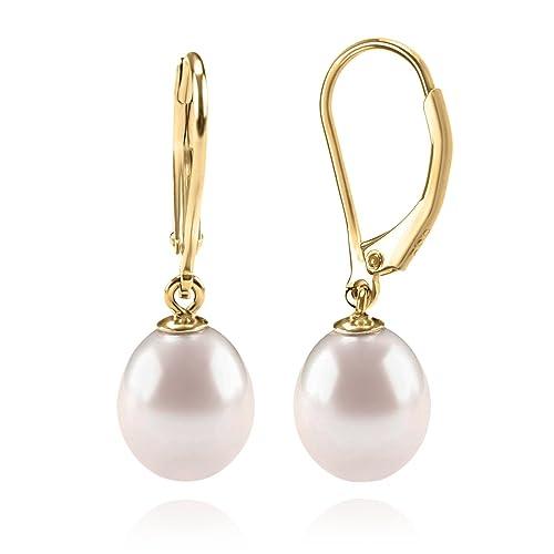 639964b4a5f Best Quality PEARL Earrings: Amazon.com