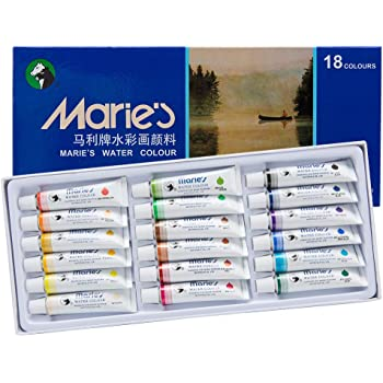 Amazon.com: 12 Colors Marie's Chinese Painting Colour
