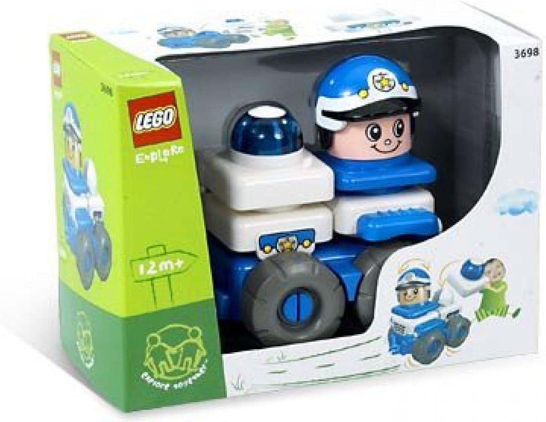 LEGO Explore Friendly Polizei Denn 3698