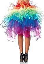 UTOVME Damen Rock 4 Layer Petticoat Unterrock Tüll Tutu Röcke Ballett Puff Rock für Tanz Party Bühnen Kostüm Show Cosplay