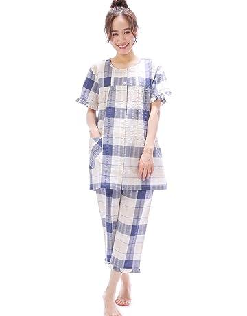 9addb3cf52ddfb [ルームサプリ] パジャマ 綿100% 肌にやさしい【選べるデザイン/選べる